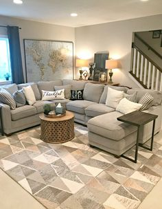 One of my favorite shopping spots (and a sale!) is part of Farm house living room - Some of my favorite World Market furniture pieces, just in time for a great sale! Living Room Interior, Home Living Room, Apartment Living, Living Room Designs, Family Room Furniture, Living Area, Farmhouse Living Room Furniture, Basement Furniture, Living Room Furniture Arrangement