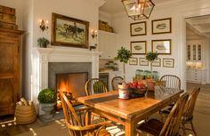 English Country breakfast room.......David Phoenix Interior Designs