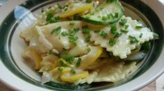 Creamy and Lemony Ravioli with Squash #vegetarian