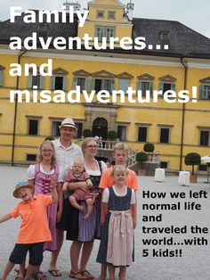 www.learningbrave.com Family world travel abroad. We are daring to live our dream. Imperfectly...but doing it anyway! Family World, Do It Anyway, 5 Kids, Normal Life, Family Adventure, Travel Abroad, Brave, Learning, Movie Posters