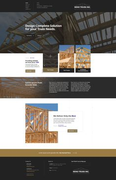 The simplicity of this site's and really gives it a higher age in terms of conversion! What do you think about this design? Architecture Company, Crayons, Lorem Ipsum, Web Design, Construction, Age, Building, Design Web, Colouring Pencils