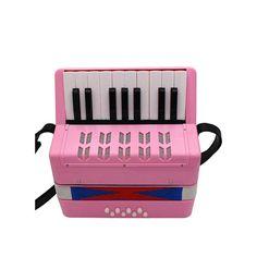 Mzl Instrumento Musical acordeón Principiante 17 protección del Medio Ambiente ABS Material Clave de los niños Teclado de Juguete Tipo Regalo de (7-14 años): Amazon.es: Hogar Keyboard, Music Instruments, Gift, Toys, Home