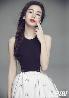 Angelababy for SELF China June 2015 - Dior