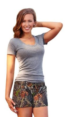 Mossy Oak Break Up Casual Drawstring Shorts - Juniors XX-Large *** Visit the image link more details. (This is an affiliate link) Women's Shorts, Boho Shorts, Casual Shorts, Fashion Outfits, Ladies Fashion, Womens Fashion, Casual Dresses, Formal Dresses, Mossy Oak