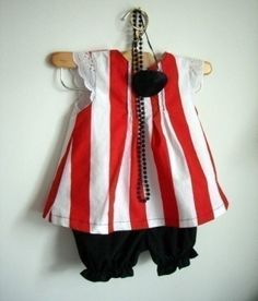 My daughter wants to be a pirate for Halloween! How adorable. I might have to get this.