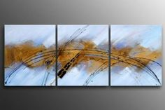 Galatic Fantasy I-Modern Canvas Oil Painting Wall Art with Stretched Frame Ready to Hang