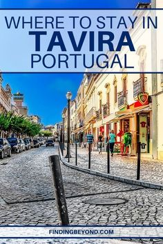 When it comes to where to stay in Tavira, Portugal, there are many options to consider. Here, we've prepared our area recommendations and best hotels! Portugal Vacation, Portugal Travel Guide, Places In Portugal, Visit Portugal, Hotels Portugal, Europe Travel Tips, Places To Travel, Places To Visit, Travel Plan