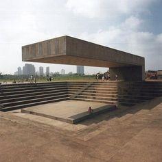 Amphitheater  Parque Villa Lobos Sao Paulo, Brazil
