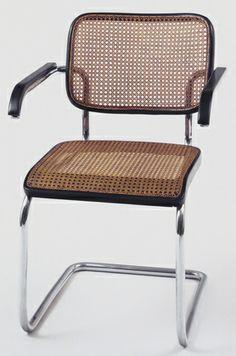 Marcel Breuer Cesca Armchair (model B64), 1928