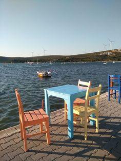 Sığacık - İzmir - Turkey Outdoor Tables, Outdoor Decor, Outdoor Furniture Sets, World, Paradise, Home Decor, Photos, Decoration Home, Room Decor
