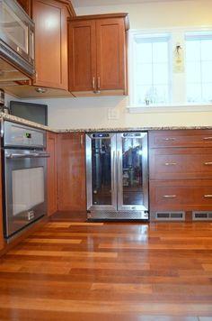 32 best kitchens red images cabinet colors wood species gray rh pinterest com