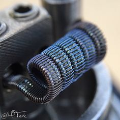 Color shot Fused/Cat track/Staggered wrap 26 core build   Dual coil 2.5mm   .09… More