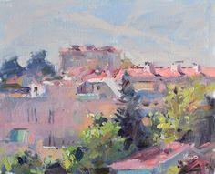 Lena Rivo's Painting Blog: Under the Noon Sun
