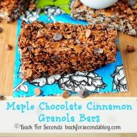 http://backforsecondsblog.com/2013/03/maple-chocolate-cinnamon-granola-bars/