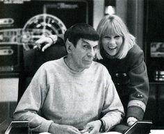 Behind the Scenes - Star Trek - Leonard Nimoy and Grace Lee Whitney