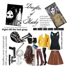 """""""Macey {Daughter of Masky}"""" by marythedemon ❤ liked on Polyvore featuring Michael Kors, Falke, INC International Concepts and Majesty Black"""