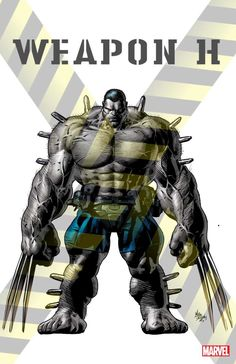 """Meet Weapon H Marvel's Hulk/Wolverine Hybrid  Marvel has revealed a new cover and concept art for the currently ongoing Totally Awesome Hulk/Weapon X crossover """"Weapons of Mutant Destruction."""" These new images offer readers their first good look at Weapon H a new genetically engineered monster that combines the strength of Hulk with the claws and attitude of Wolverine.   Weapon H concept art by Mike Deodato Jr. (Marvel Comics)  Continue reading  https://www.youtube.com/user/ScottDogGaming…"""