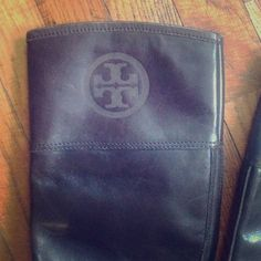 """Tory Burch! Classic riding boots! These gorgeous Tory Burch classic riding boots are a """"must have"""" addition to any wardrobe!! Classic equestrian riding boot style, dark, chocolate brown color. Pull on, no zipper. Worn, but these boots still have years and years of life left in them. Heels are still in great shape. Leather has some scratching due to typical wear. It just gives the boots more character. Tory Burch Shoes Heeled Boots"""