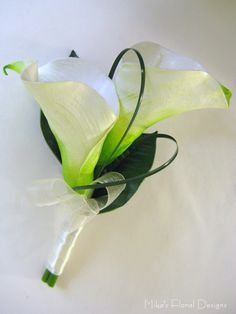 mother corsages calla lilly | October 11