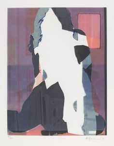 Angus Fairhurst, 'Unprinted I' 2005 is one of a set of three small rectangular photo-etchings mounted on grey paper, which depict silhouettes of women superimposed on top of each other against multi-layered backgrounds.