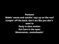 Little Big Town - Pontoon Lyrics