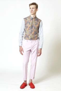 Carven Spring 2013 Menswear Collection Slideshow on Style.com