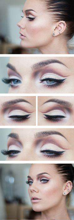 Heat Wave Eye Makeup Look - #eyes #eyeshadow #eyeliner - bellashoot.com