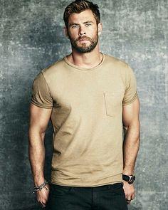 Chris Hemsworth in Men's Journal.