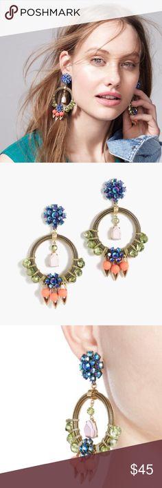 Selling this J Crew neon statement earring orig. $98 on Poshmark! My username is: preppytrendy. #shopmycloset #poshmark #fashion #shopping #style #forsale #J. Crew #Jewelry
