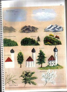 Babarian folk Art Furniture Book 6 - sonia silva - Álbumes web de Picasa