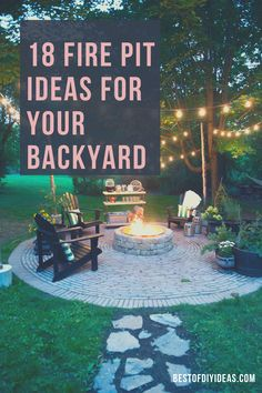 Backyard Projects, Backyard Ideas, Diy Projects, Fire Pit Backyard, Backyard Patio, Outdoor Spaces, Outdoor Living, Outdoor Decor, Diy Ideas