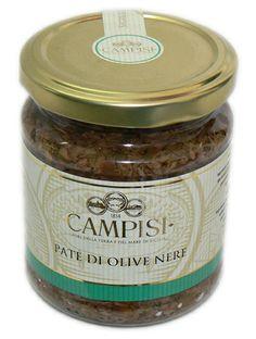 -- == #Patè di #olive nere ==-- Ideale per arricchire ogni piatto e insaporire bruschette o tartine. Ingredienti: olive nere, olio d'oliva, olio di semi di girasole, capperi, prezzemolo, menta, origano, aglio, peperoncino, aceto di vino bianco, sale.