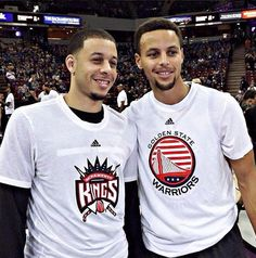 The Curry Brothers Steph's brother looks a little like Vin Diesel.....