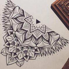 flash mandala design by miss sita at one o nine tattoo barcelona