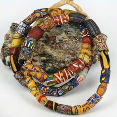 SKJ ancient bead art | ancient beads | antique beads | amber beads | coral beads |Pinned from PinTo for iPad|