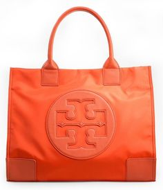 Must have for Spring...<3!!! Tory Burch Nylon Ella Tote
