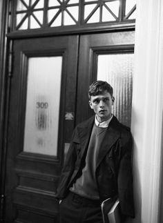 Benjamin Eidem fotografato da Lachlan Bailey per Man About Town, SS2013 #fashion #style #photography
