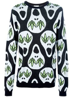 ADIDAS ORIGINALS BY JEREMY SCOTT Skull Embellished Sweater