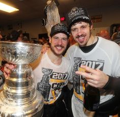Sid and Geno two of the best hockey players in the world!!!!!