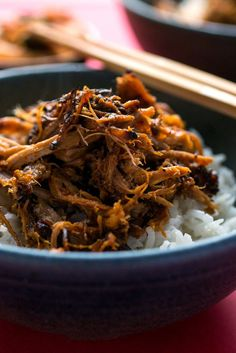 NYT Cooking: You can make this spicy pork in an electric pressure cooker if you're in a hurry, or in a slow cooker if you're not. In either case, you'll get tender bits of meat covered in a chile-flavored barbecue sauce that's just slightly sweet. (You can also make it in a stovetop pressure cooker, by trimming a few minutes off the cooking time. Stovetop pressure cookers tend%...