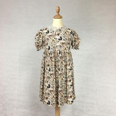 Girls Summer Dress by JaniceCollierDesigns on Etsy