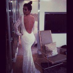 kim kardashian huwelijk kanye trouwjurk pucci