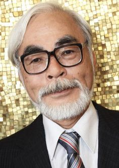 "Hayao Miyazaki, renowned Japanese artist, animator, and director.  ""I believe that a film should represent a very intimate personal encounter between what's on the screen and an individual's heart."""