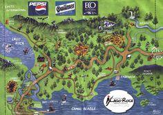 Tierra del Fuego National Park Trail Map