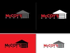 Garage Door Logo Serious Modern Logo Design By Hsi Graphics Modern Logo Design Garage Logo Modern Logo