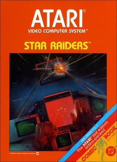 Climb into the fabulous Star Fighter and warp through the galaxy with Commander Champion and Li San O'Rourke. Help the Atari Force™ destroy the Krylon menace, rescue the last vital starbase, and avenge the Doomed Planet.