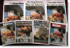 11 September 2001, attacks at the World Trade Center