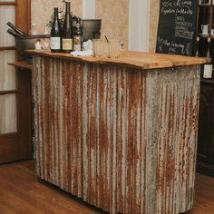 Rustic Portable Bar … | Pinteres…