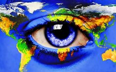 Eye on the WORLD map