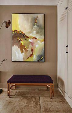 Original Large Abstract Painting Wall Art Wall Decor Modern